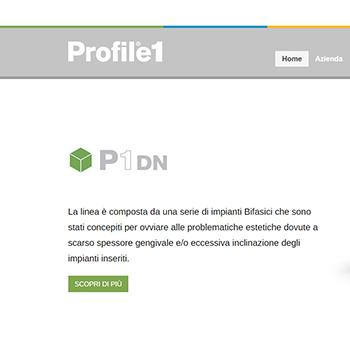 Profile1 | Produzione Impianti Dentali Monoblocco