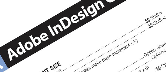 34 cheat sheets for web designers and developers