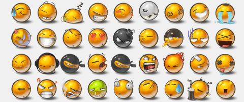 Yolks 2 Emoticons