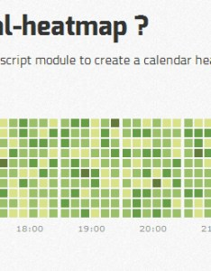 Cal heatmap requirements javascript enabled also  module to create calendar web resources rh webappers