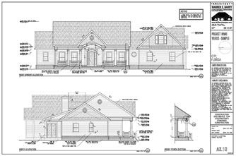 Permit Drawings: Exterior Elevations, Florida Architect