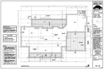 BUILDING FOUNDATION PLANS
