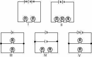 Solved: In The Diagrams, All Light Bulbs Are Identical And