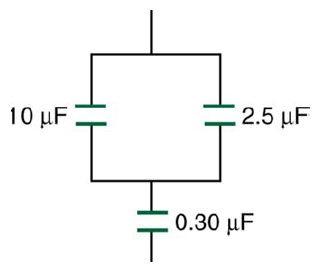 Solved: Find The Total Capacitance In Micro Farads Of The