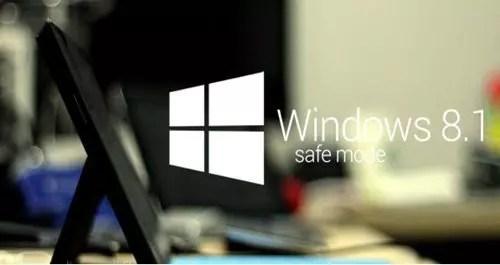 windows 8 e 8.1 in modalità provvisoria