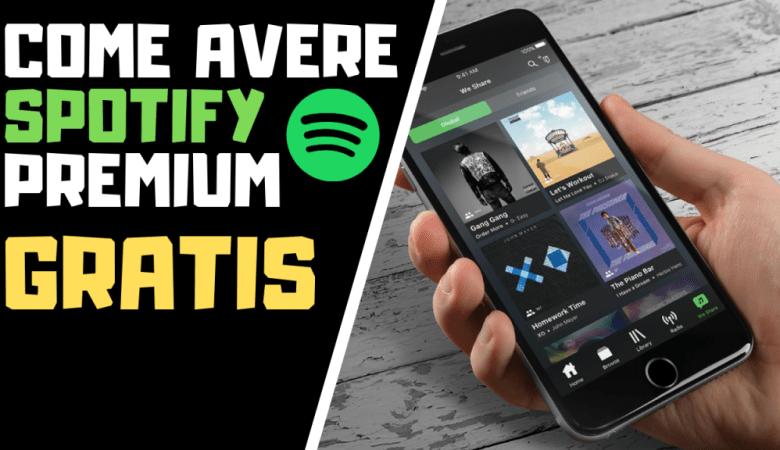 Spotify Premium Gratis per Sempre (PC,macOS,Android,iOS)