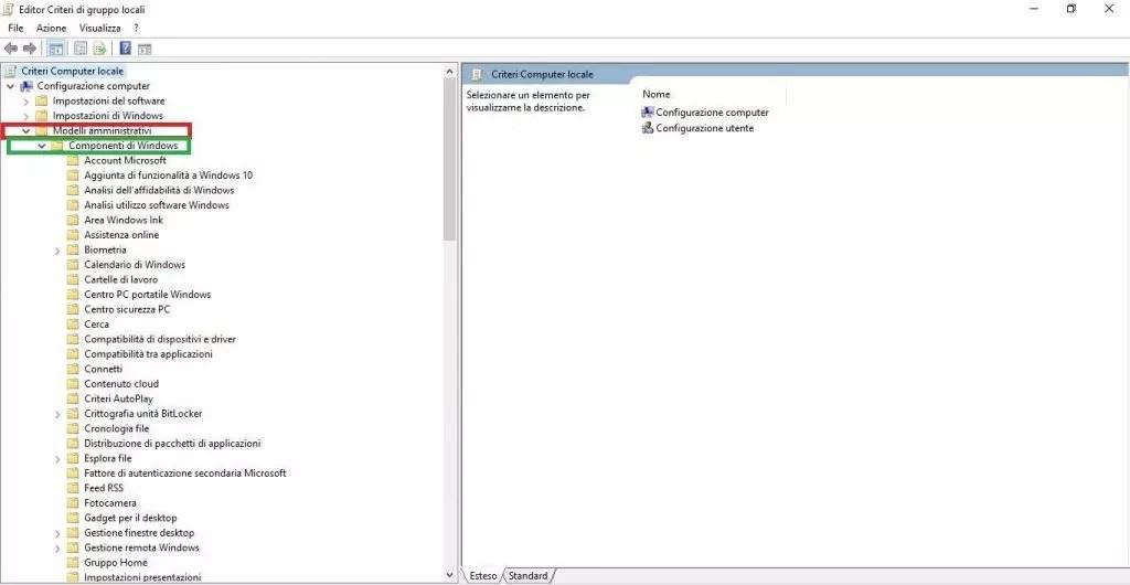 Windows Defender : La protezione è gestita dalla tua organizzazione soluzione
