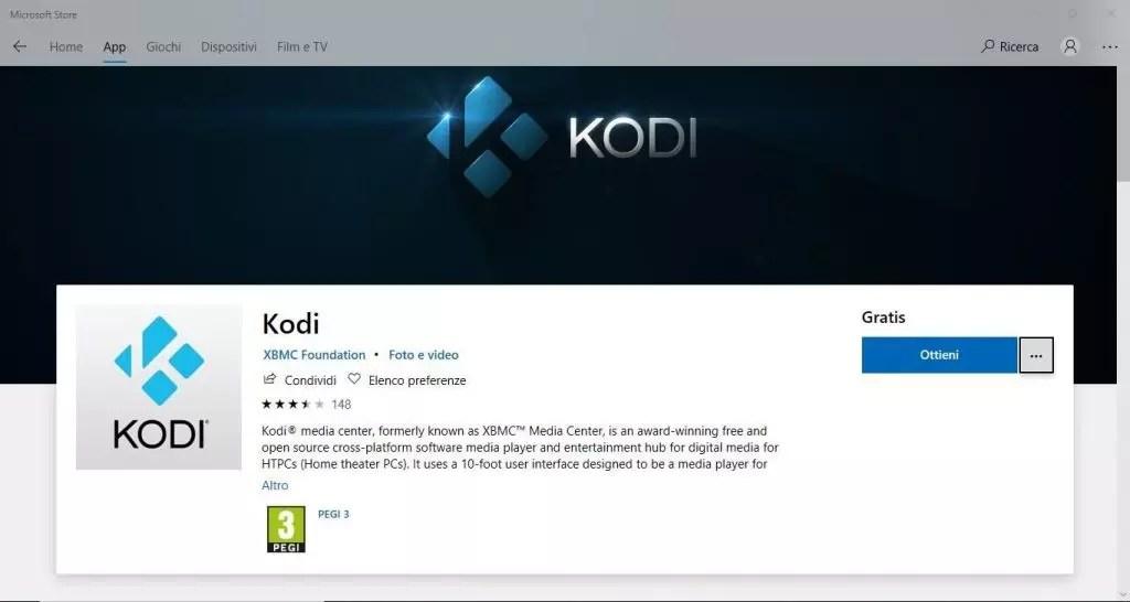 Come installare Kodi su Xbox One