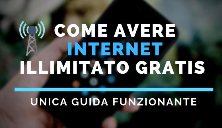 Come Avere Internet illimitato gratis per Sempre su Android