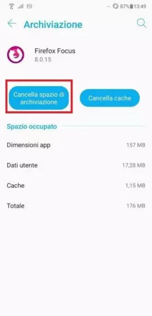 Come Cancellare Dati App