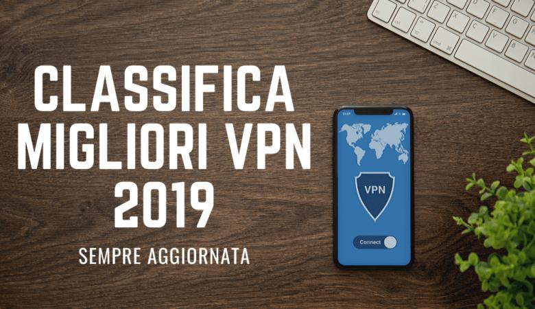 Classifica Migliori VPN 2019