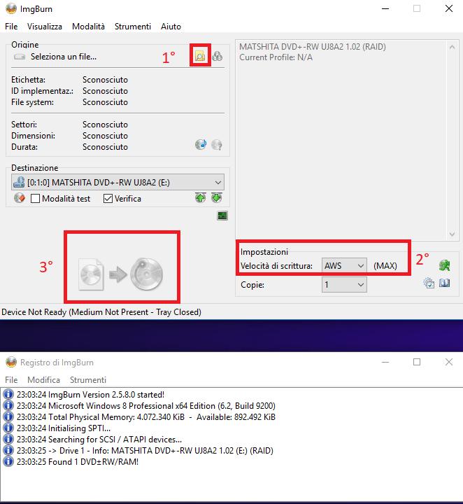 Masterizzare un file ISO su CD o DVD