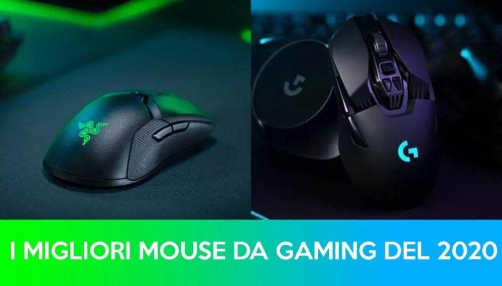 I Migliori Mouse da Gaming 2020
