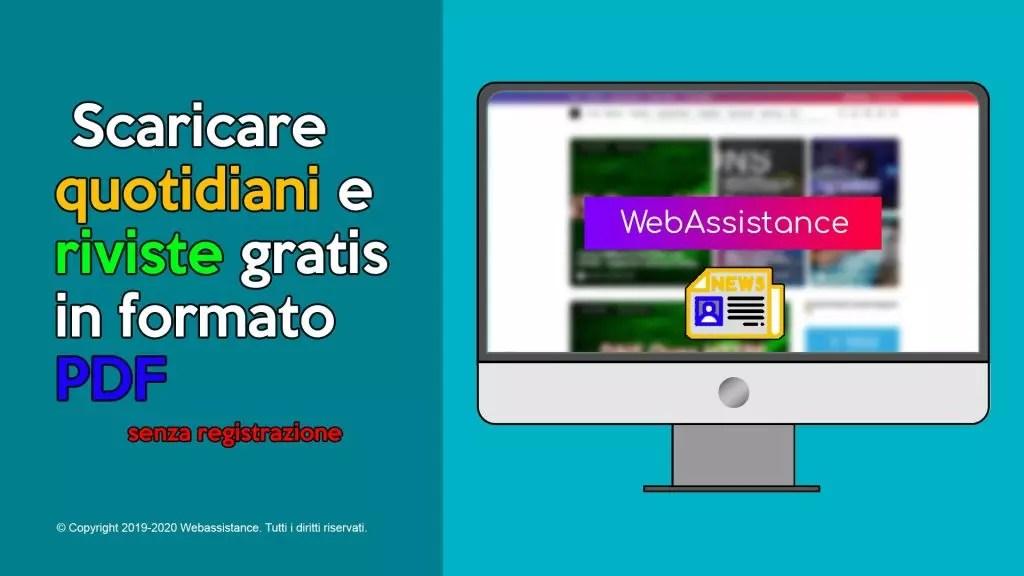 Scaricare riviste gratis italiano