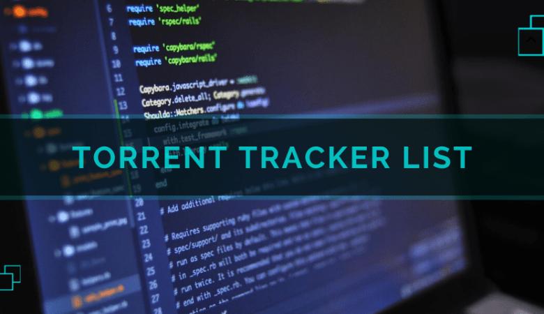 Torrent Trackers 2020