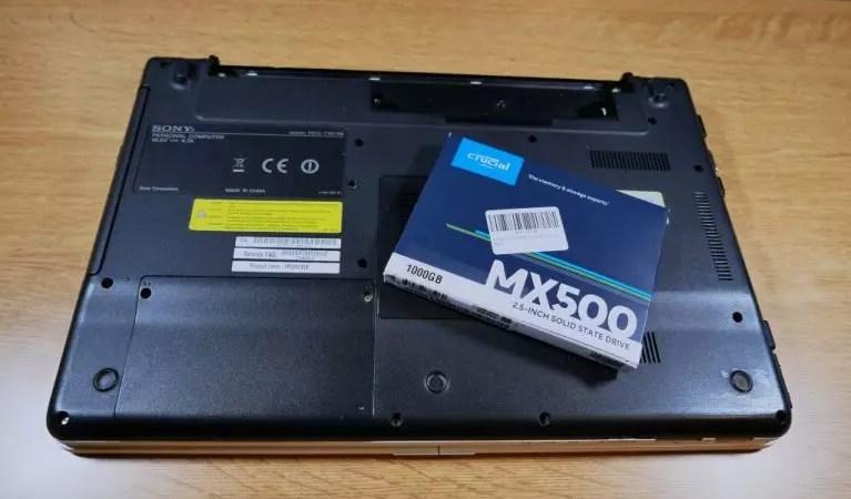 Come montare un SSD