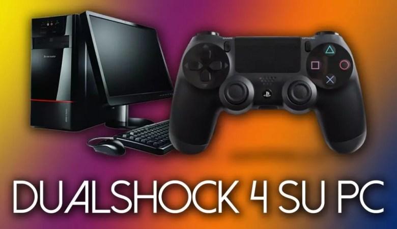 Come usare il joystick ps4 su PC