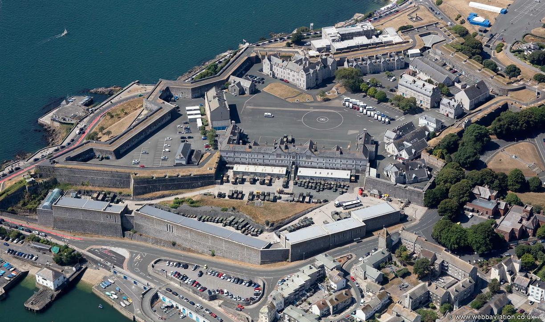 Royal Citadel. Plymouth aerial photograph | aerial photographs of Great Britain by Jonathan C.K. Webb