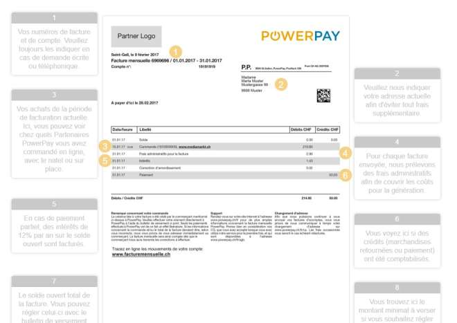 Facturation Powerpay