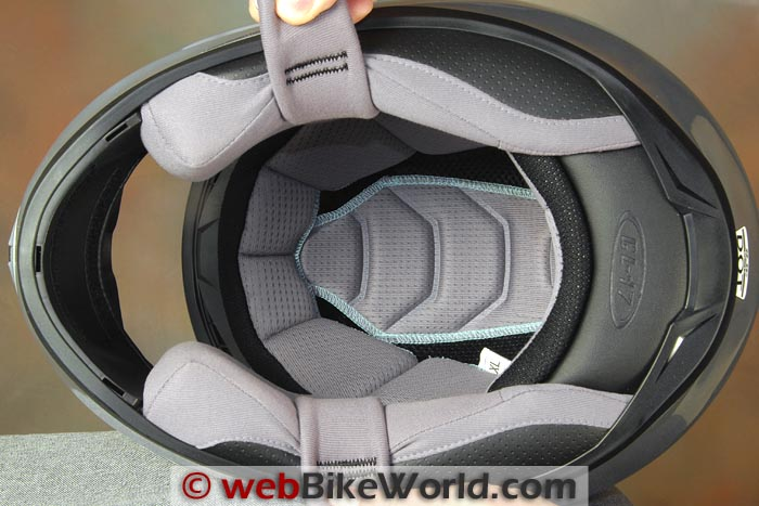 hjc helmets cl 17 chin curtain racing