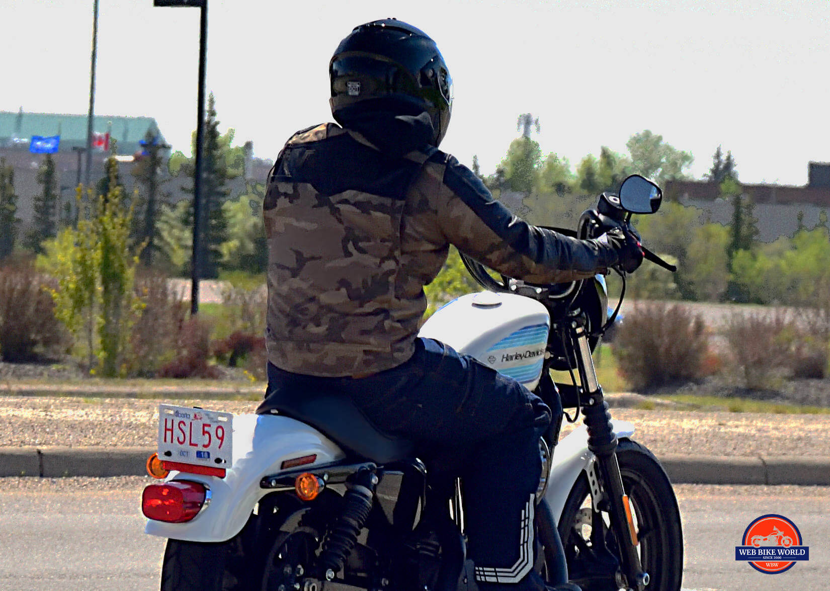 hight resolution of clymer repair manual image gallery rider in camo on top harley davidson motorcycle