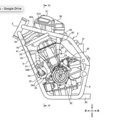 suzuki twin turbo motorcycle patent [ 1024 x 775 Pixel ]