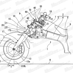 Honda Power Steering Diagram Basement Wiring Is Working On For A New Bike Web World Patent Image From Morebikes
