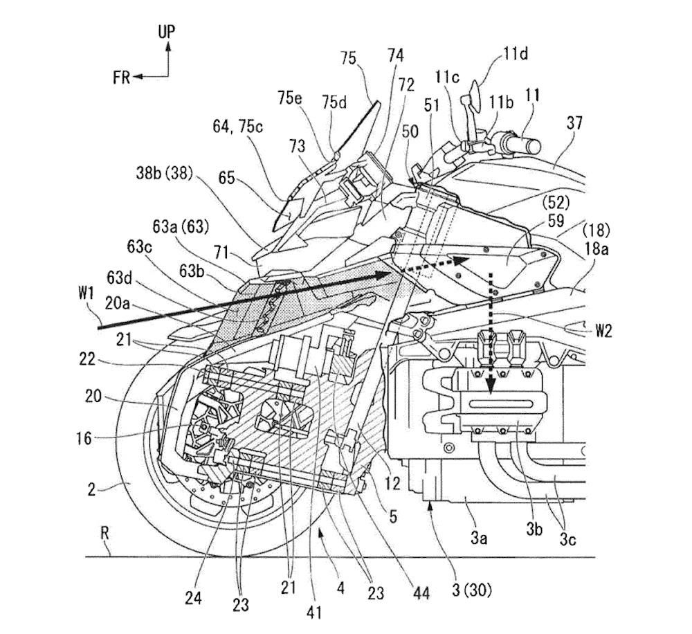 Will Honda Build a Gold Wing-Powered Leaning Trike