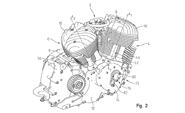 Indian Motorcycle Patents Variable Valve Timing V-Twin