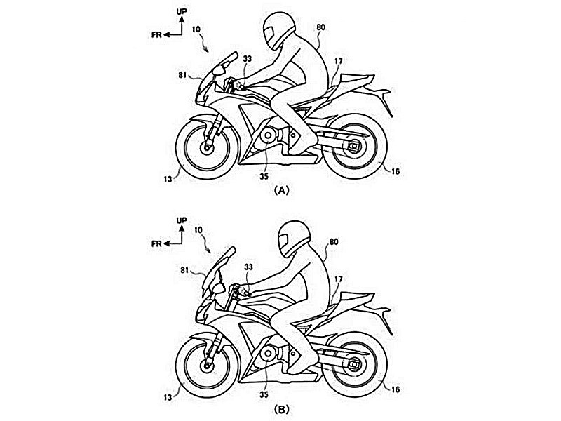 Honda Files Patent to Let You Change Your Riding Position