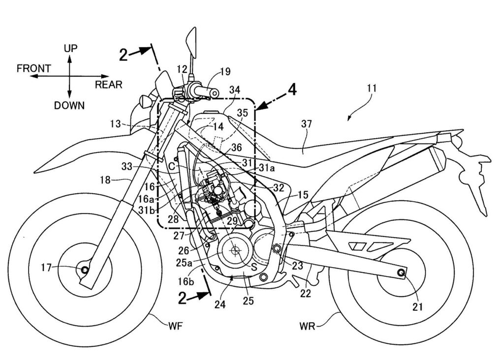 Honda Adds Twin-Spark Engine to CRF250L and CRF250 Rally