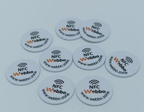 NFC Tag 215 504 NFC Tags NXP Chip NTAG215 504 byte 10pz.