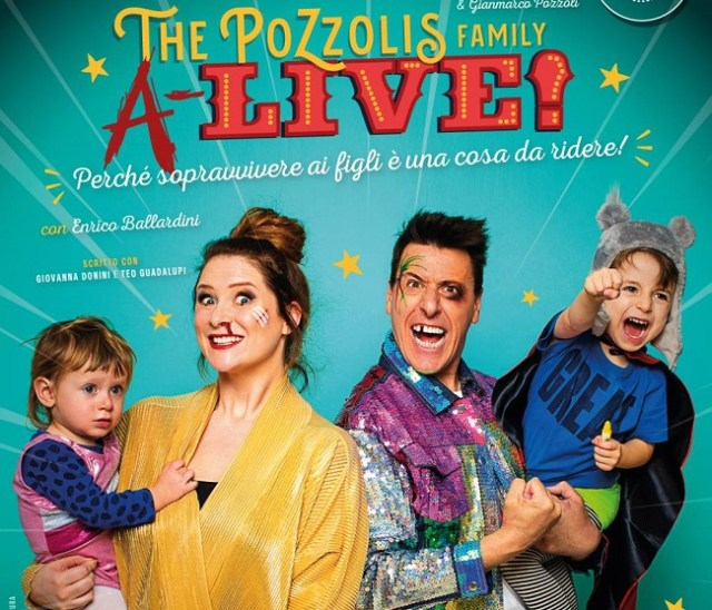The Pozzolis Family teatro