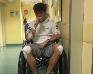"""Valerio Mazzei finisce in ospedale: """"Ho fatto un incidente, poteva andarmi peggio"""""""