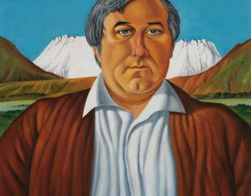 Leo Bensemann, 'Portrait of Trevor Moffitt'