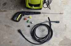 green pressure washer