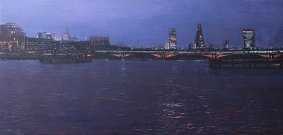 StPaul's and Blackfriars Bridge at Dusk
