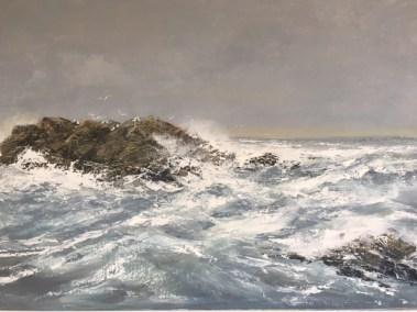 Gull Rock, 105 x 73 cm