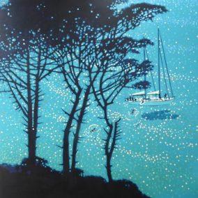 Sailing Break, Pine Trees