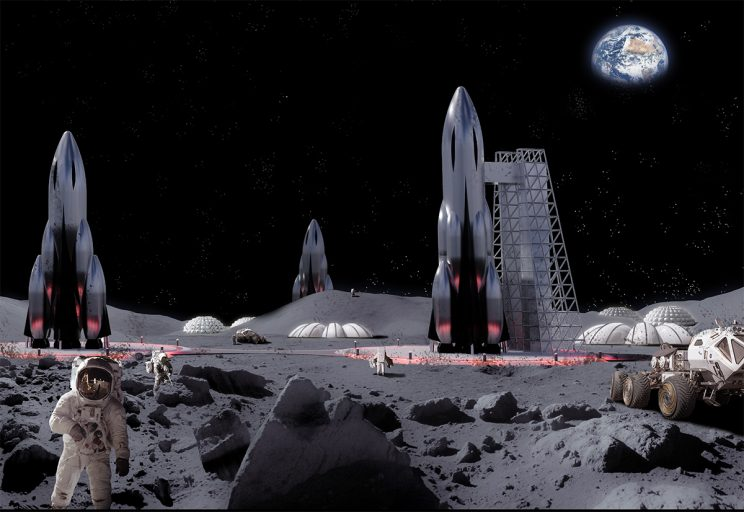 Astronaut urine could be used to build bases on the moon