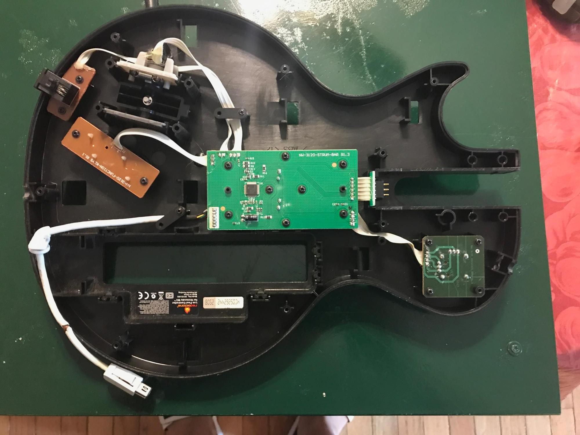 hight resolution of how to repair guitar hero guitar wii edition webcommand netre install the screws you removed and put the entire guitar hero guitar back together give