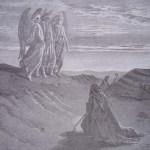 Abraham recevant la visite de Dieu
