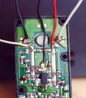 5 wire mazda wiring diagram homemade radio control mowers feed the wires out through 2 holes you drilled in base plate 10 replace with o ring still place on