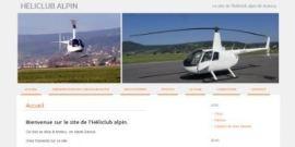 [site] Développement du site pour l'héliclub alpin