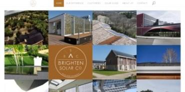 [site] Développement d'un site vitrine pour une entreprise spécialisée dans les panneaux solaires