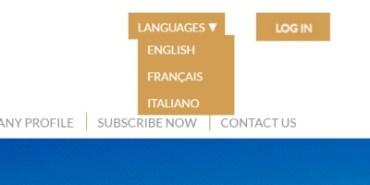 [site] Ajout d'une troisième langue pour le site L&F