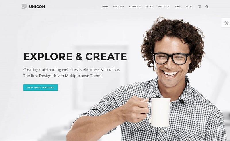 unicon professional creative theme