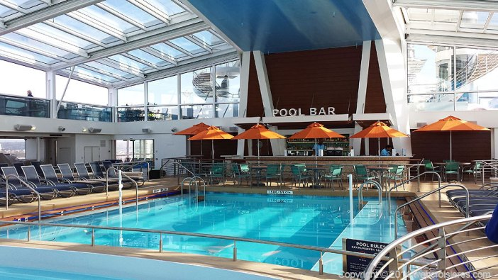 La Piscine du Quantum of the Seas