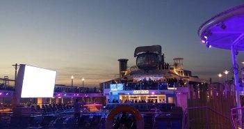 Sky Bar sur le pont supérieur du Quantum of the Seas