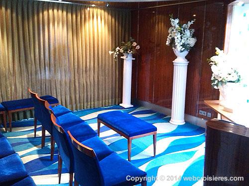 Chapelle à bord du Norwegian Jade